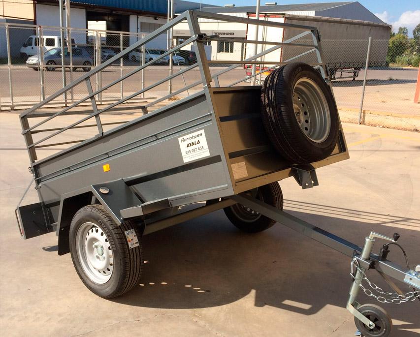 Remolque-basculante-+-barandilla-desmontable-+-eje-1.000-kg
