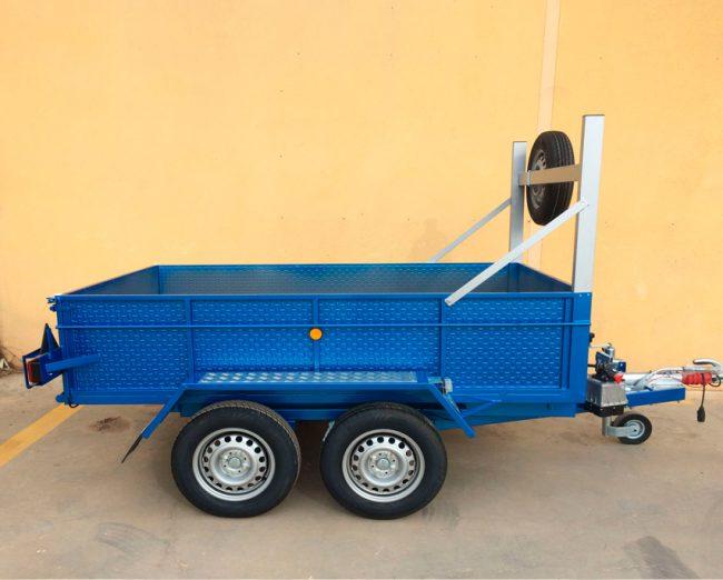 Remolque-basculante-hidraulico-2-ejes-con-freno-ruedas-por-fuera
